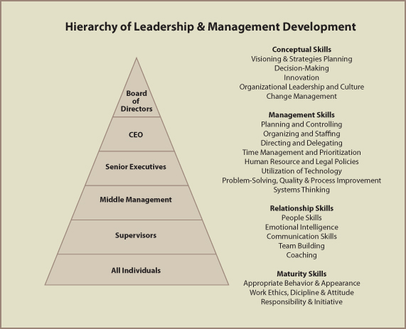 a hierarchical taxonomy of leadership behavior Primarily explored the leadership qualities of higher hierarchical levels,  distinguished leadership behavior via  also organized a taxonomy of leadership and.